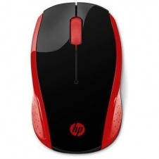 HP 200 EMPRS RED WIRELESS MOUSE