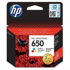 CARTUCHO ORIG HP Nº 650 COLOR CZ102AE