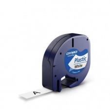 CINTAS PLASTICO 12MM X 4M NE/BL