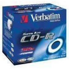 Verbatim AZO Crystal - CD-R x 10 - 700 MB - soportes de almacenamiento