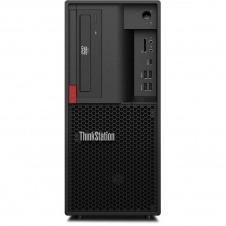 Lenovo ThinkStation P330 30C5 - Torre - 1 x Xeon E-2124G / 3.4 GHz - RAM 8 GB - HDD 1 TB - grabadora de DVD - UHD Graphics P630 - GigE - Win 10 Pro for Workstations 64 bits - monitor: ninguno - TopSel