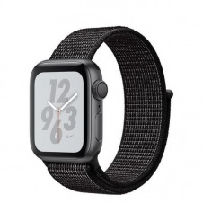 APPLEWATCH NIKE+ S4 GPS 40MM ACCSSP GR ALUM CASE BLACK NIKE LOOP IN