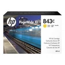 HP 843C - amarillo - original - PageWide XL - cartucho de tinta