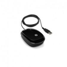 HP X1200 - ratón - USB - negro chispeante