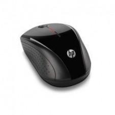 HP X3000 - ratón - 2.4 GHz - gris metálico, negro brillante