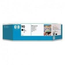 HP 90 - negro - original - cartucho de tinta