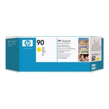 HP 90 - amarillo - cabezal de impresión con limpiador