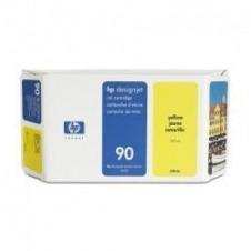 HP 90 - amarillo - original - cartucho de tinta
