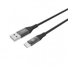 CABLE USB USB-C COLOR BK