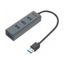 i-Tec USB 3.0 Metal Passive HUB - hub - 4 puertos