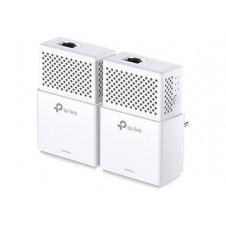 TP-LINK AV1000 - Gigabit Powerline Starter Kit - puente - GigE, HomePlug AV (HPAV), HomePlug AV (HPAV) 2.0, IEEE 1901 - conectable en la pared