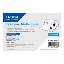 Epson Premium - papel continuo de etiqueta - 1 bobina(s)