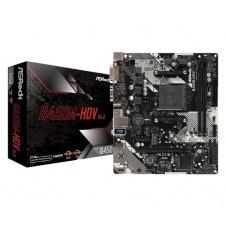 PLACA BASE ASROCK B450M-HDV R4.0 ZÓCALO AM4 MICRO ATX AMD B450