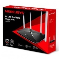ROUTER INALÁMBRICO WIFFI MERCUSYS DOBLE BANDA 1200MBPS AC1200