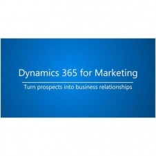 DYNAMICS 365 FOR MKT ATTACH FACULTY