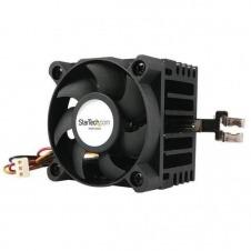 StarTech.com Ventilador para CPU Socket 7/370 de 50x50x41mm con Disipador de Calor y Conectores TX3 y LP4 - disipador para procesador
