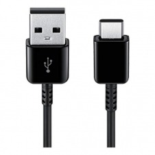 CABLE USB-A USB-C BLACK