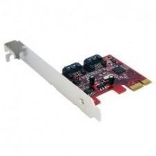 StarTech.com Tarjeta Adaptadora Controladora PCI Express PCIe 2 Puertos SATA Internos - SATA III - controlador de almacenamiento - SATA 6Gb/s - PCIe