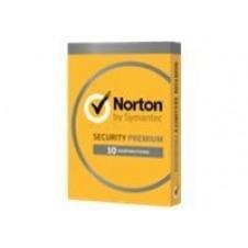 Norton Security Premium (v. 3.0) - licencia de suscripción (1 año) - hasta 10 dispositivos, 25 GB de almacenamiento en línea