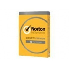 Norton Security Premium (v. 3.0) - tarjeta de suscripción (1 año) - hasta 10 dispositivos, 25 GB de almacenamiento en línea