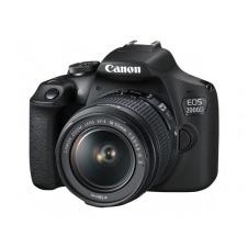 Canon EOS 2000D - cámara digital lente EF-S IS II de 18-55 mm