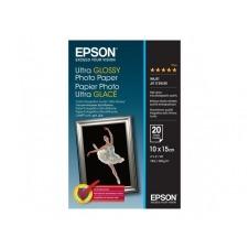 Epson Ultra Glossy Photo Paper - papel fotográfico brillante - 20 hoja(s)