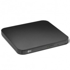 REGRABADORA ULTRA SLIM PORTABLE DVD-W NEGRO LG