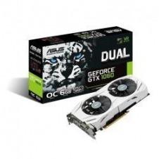 ASUS DUAL-GTX1060-O6G - tarjeta gráfica - GF GTX 1060 - 6 GB