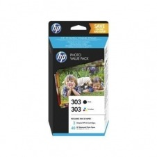HP 303 PVP WITH INK CARTR BLACKSUPL