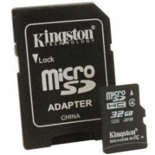 Kingston - tarjeta de memoria flash - 32 GB - microSDHC