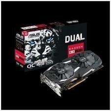 ASUS DUAL-RX580-O4G - OC Edition - tarjeta gráfica - Radeon RX 580 - 4 GB