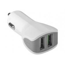CELLY CC2USBTURBOWH - adaptador de corriente - automóvil