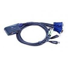ATEN CS62US - conmutador KVM / USB - 2 puertos
