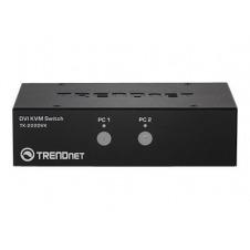 TRENDnet TK 222DVK - conmutador KVM / audio / USB - 2 puertos