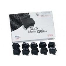 Xerox ColorStix Phaser 8200 - 10 - negro - tintas sólidas