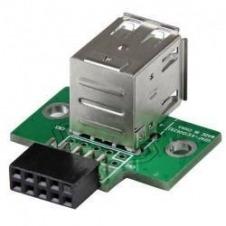 StarTech.com Adaptador Header USB de 2 Puertos para Placa Base - adaptador USB