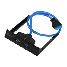 i-Tec USB 3.0 Extender - panel de puertos de bahía de almacenamiento
