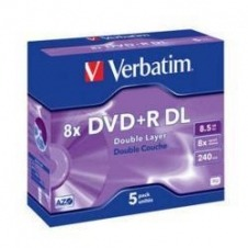 Verbatim - DVD+R DL x 5 - 8.5 GB - soportes de almacenamiento
