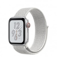 WATCH NIKE+ SERIESÿ4 GPS+CELL CONS40MM SLVR ALUM WHT NIKE SPT LOOP IN