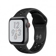 WATCH NIKE+ SERIESÿ4 GPS+CELL CONS40MM SPACEGREY ALUM BLK NIKE BND IN
