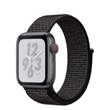 WATCH NIKE+ SERIESÿ4 GPS+CELL CONS40MM SPCGR ALUM BLK NIKE SPT L IN
