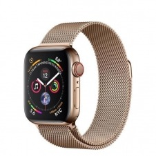 APPLEWATCH S4 GPS+CELL 40MM ACCSCASE GOLD MILANESE LOOP IN