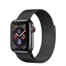 APPLEWATCH S4 GPS+CELL 40MM ACCSCASE SPACE BLACK MILANESE LOOP IN