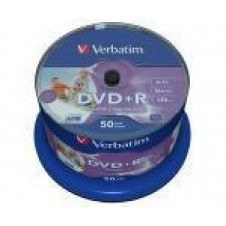 Verbatim - DVD+R x 50 - 4.7 GB - soportes de almacenamiento