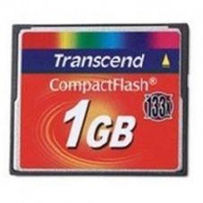 Transcend - tarjeta de memoria flash - 1 GB - CompactFlash