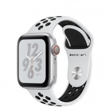 WATCH NIKE+ SERIESÿ4 GPS+CELL CONS40MM SLVR ALUM PLAT/BLK NIKE BND IN