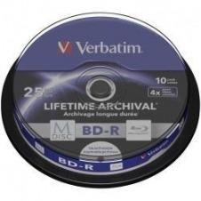 Verbatim M-Disc - BD-R x 10 - 25 GB - soportes de almacenamiento