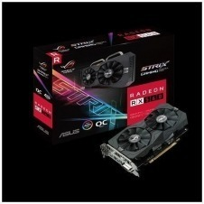 ASUS ROG-STRIX-RX560-O4G-GAMING - OC Edition - tarjeta gráfica - Radeon RX 560 - 4 GB