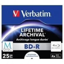 Verbatim M-Disc - BD-R x 5 - 25 GB - soportes de almacenamiento