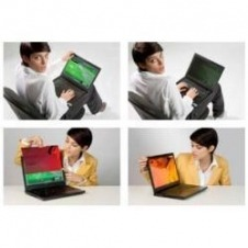 Filtro de privacidad Gold de 3M para ordenadores personales con pantalla panorámica de 14,1